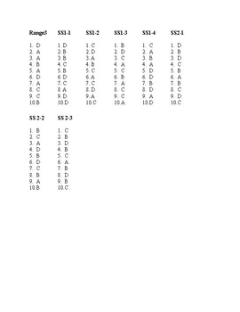 Answer Key-Frontier Math Problem Solving