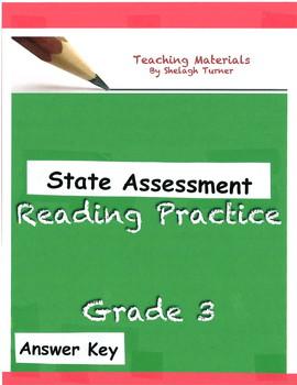 Answer Key: Grade 3 Reading Practice