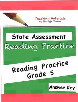 Answer Key: Reading Practice Grade 5