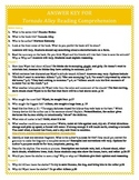 Answer Key for Disaster Strikes: Tornado Alley Reading Com
