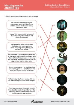 Answer Key - iDickens Collection - Charles Dickens