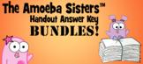 Answer Keys 2018 BUNDLE: 5 Variety Answer Keys by The Amoeba Sisters