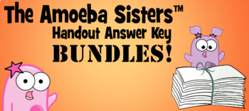 Answer Keys BUNDLE: 9 Variety Topics Answer Keys 2017 by The Amoeba Sisters