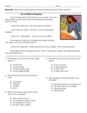 Answer Questions About Key Details in the Text: 2nd Grade Assessment