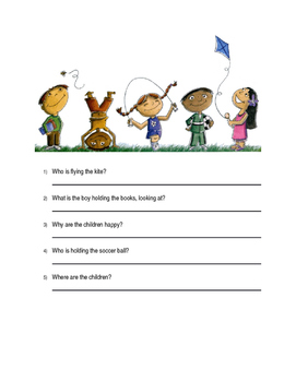 Answer WH Questions Using Pictures
