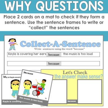 Answering WHY Questions and Formulating Logical Sentences