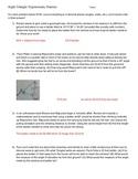Answer key to Right Triangle Toon Trigonometry handout
