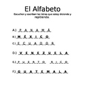 Answer key to vowel activity paper version