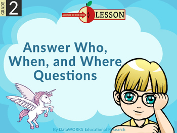 Answer Who Questions