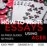 ACES Writing Strategy for Any Essay or Response!