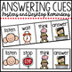 Answering Cues