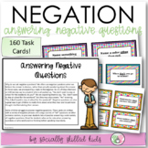 Answering Negative Questions {For Elementary Age or Abilit