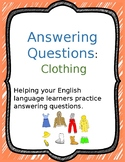 Answering Questions: Clothing