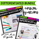 Answering Questions & Inferencing Bundle - 2nd, 3rd, 4th, & 5th Grades