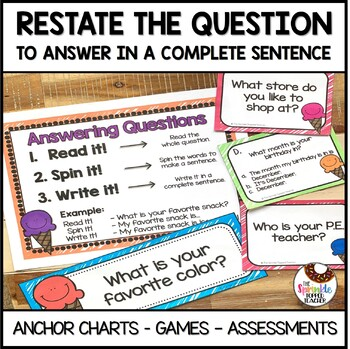 Answering Questions - Written Response Unit