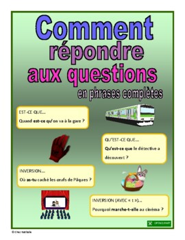 How to Answer Questions in French