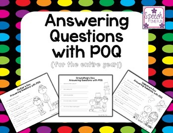Answering Questions with POQ