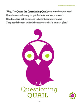 Answering Text-Dependent Questions {Quinn's Quills Hands-On Tool}