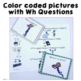 Answering Wh Questions About Pictures for Expressive Language in Speech Language