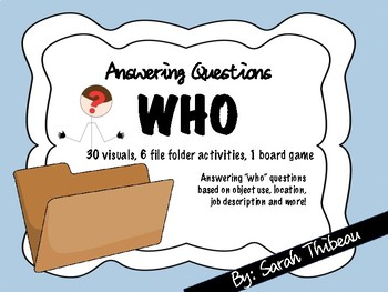 Answering Who Questions
