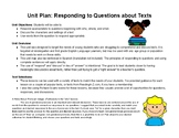 Answering Who, Where, and When Questions About Text