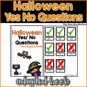 Answering Yes/ No Questions- Halloween Themed