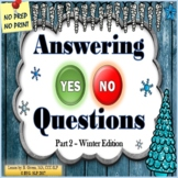 Answering Yes No Questions - Part 2 WINTER EDITION