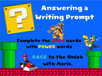Answering a Writing Prompt
