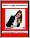 Career Readiness - Employment Skills - PHONE SKILLS - Vocational, Employability