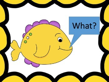 """Answering the """"wh"""" Questions--slide show and worksheets"""