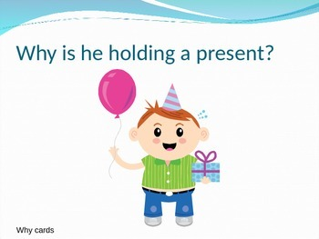 Answering 'why' questions speech therapy