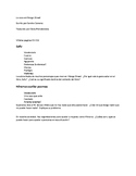 Answers for Casa en Mango Street pp. 89-end
