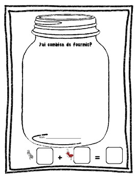Ant Addition- French Immersion