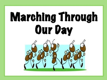 Ant Agenda Illustrations: Marching Through Our Day