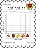 Ant Antics: A Science Investigation
