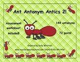 Antonym Matching Game Set 2 - 72 pairs of antonyms