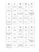 Ant Bingo Game ~ Language Arts Activity