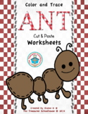 Ant Cut and Paste Worksheet Pack