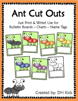 Ant Cut Outs