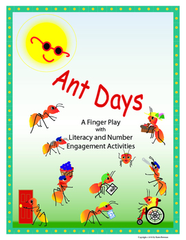 Ant Days Finger Play