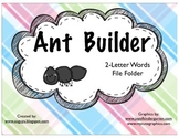 Ant File Folder: 2 letter words