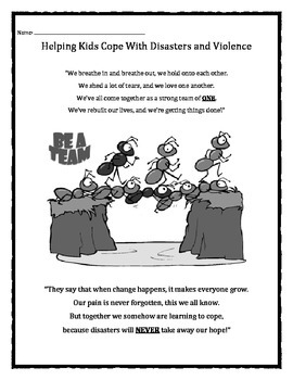 Ant Hill Disaster: Dealing With A Disaster Or Violence