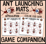 Ant Launching Mat Game Companion for Speech Therapy  (Articulation)