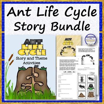 Ant Life Cycle Story Bundle