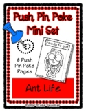 Ant Life - Push Pin Poke No Prep Printables - 6 Pictures &