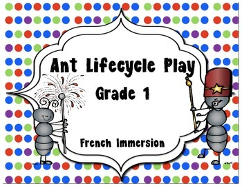 Ant Lifecycle Play- French Immersion