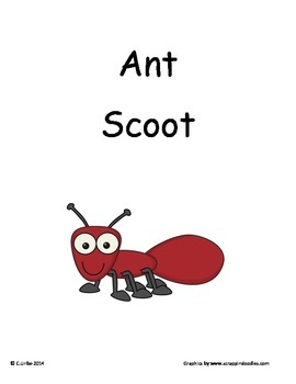 Ant ~ Scoot Game ~ Language Arts ~ Task Cards