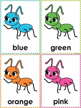 Ant Color Posters & Memory Cards Dollar Deal