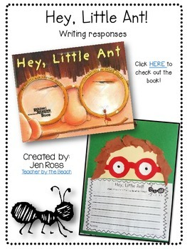 Ant Writing Response Pages {Freebie}