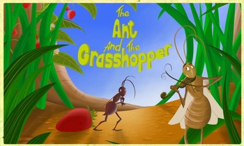 Ant and Grasshopper Comprehension/Skill Trifold for Wonder